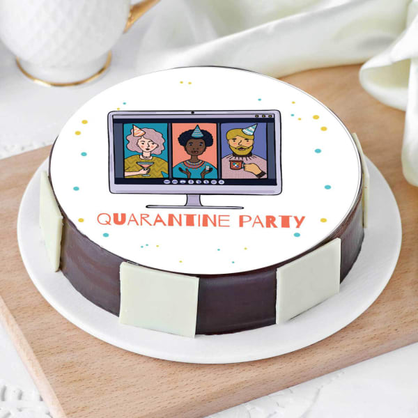 Quarantine Party Cake (Half Kg)