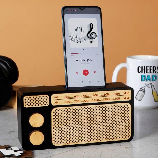 Radio Style Phone Amplifier