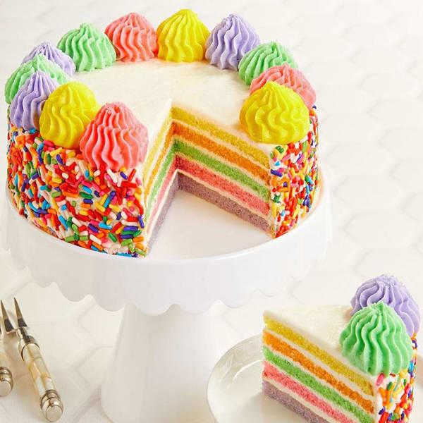 Rainbow Cake - 600 gms