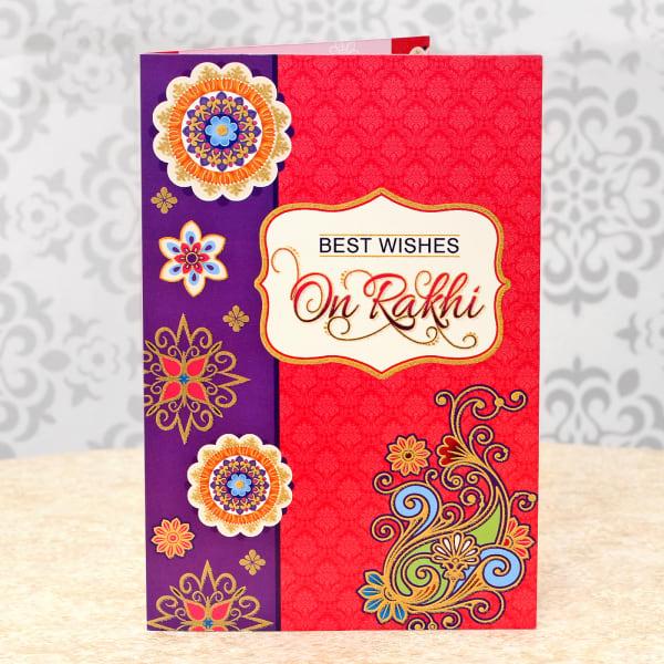 rakhi greeting card giftsend addons gifts online