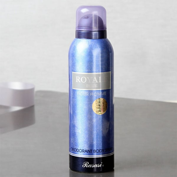 Rasasi Royale Blue Perfume Deo Hamper For Men Giftsend Fashion