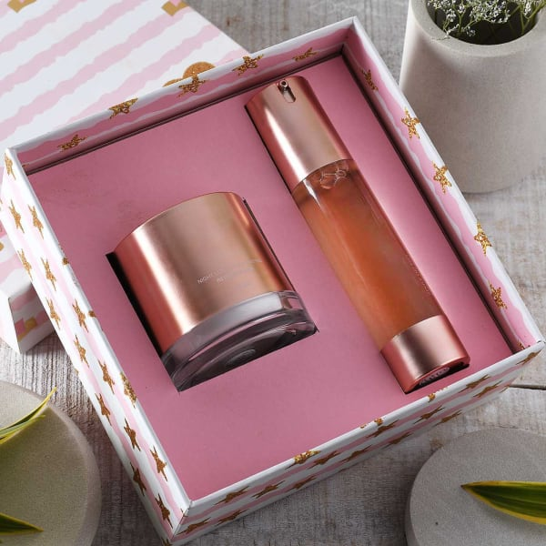 Rejuvenating Night Cream & Deep Cleaning Face Wash in Gift Box
