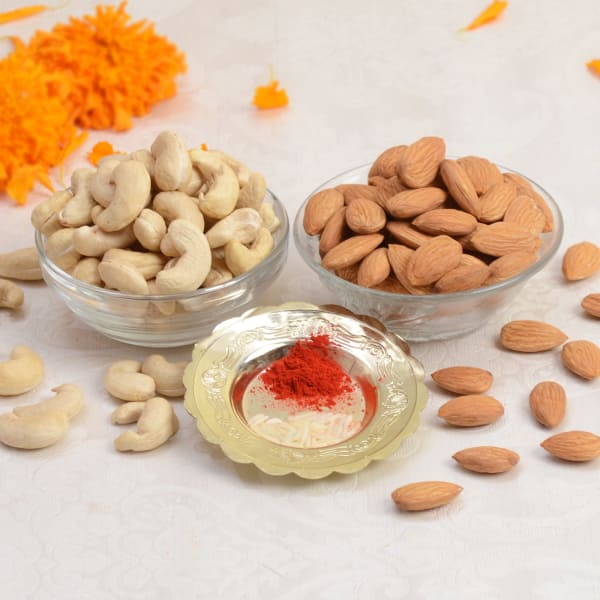 Roli Chawal With Assorted Dryfruits