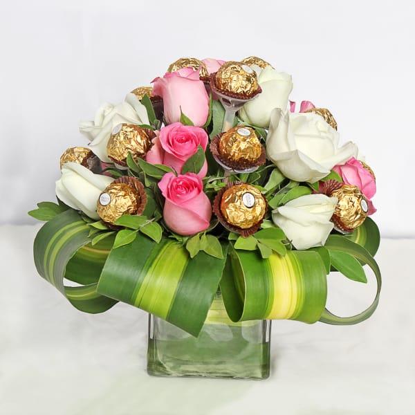 Roses & Ferrero Rocher Bouquet