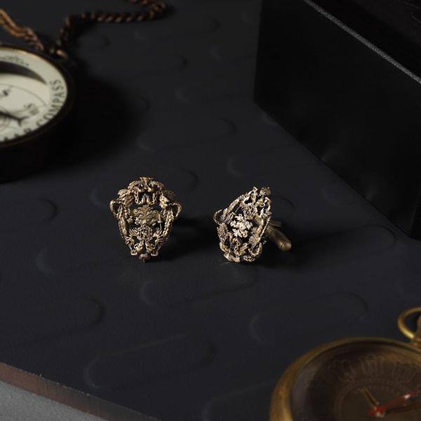 Royal Crest Brass Cufflinks For Men