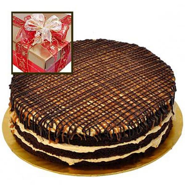 Salted Caramel Chocolate Gateaux 9