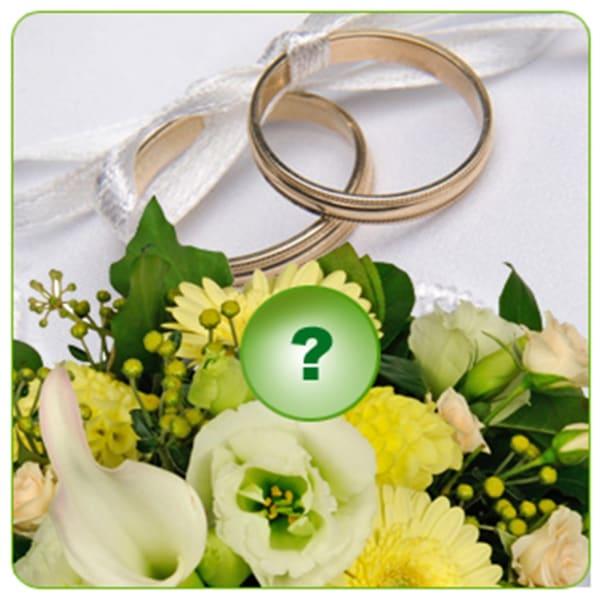 Seasonal Bouquet Wedding Style