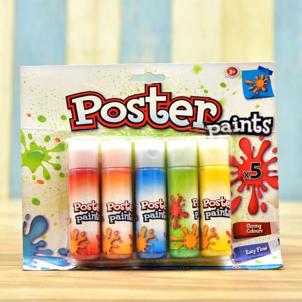 Set of 5 Poster Paints