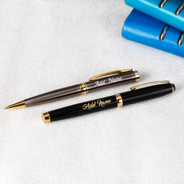 Set of Two Personalized Pen