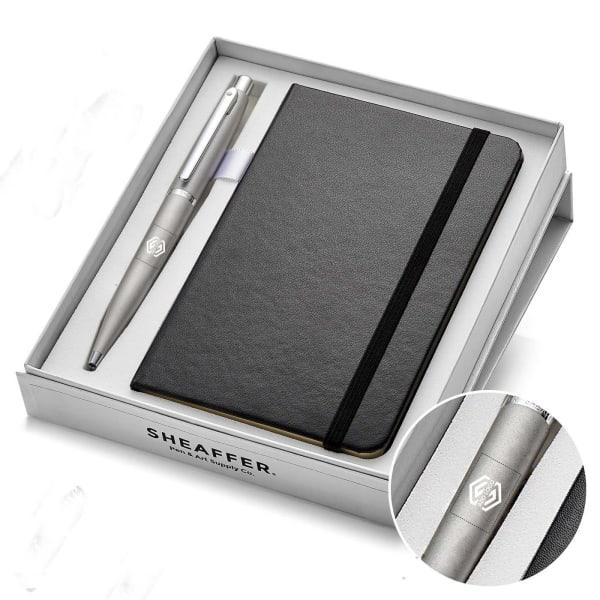 Sheaffer Luxury Notebook And Pen Gift Set - Customised with Logo