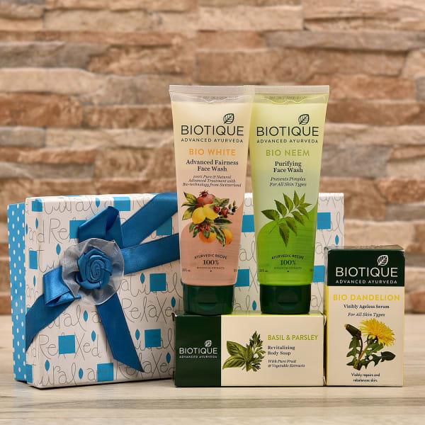 Skin and Body Care Hamper in Gift Box