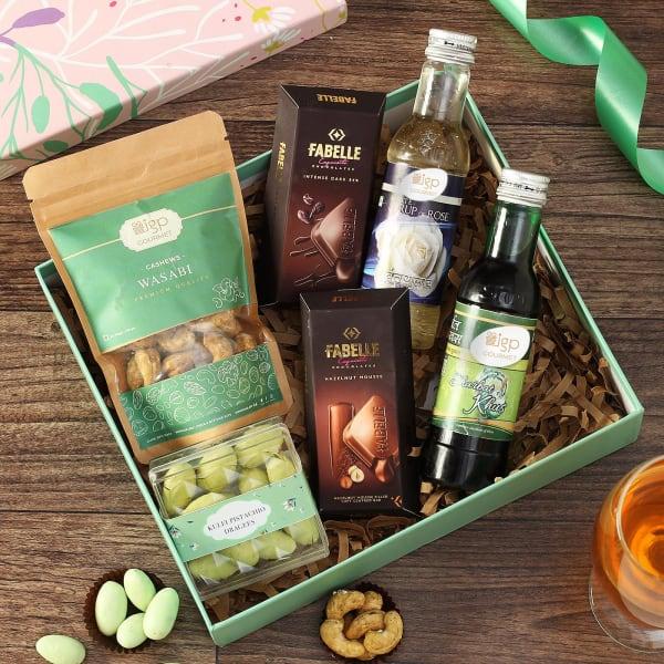 Snacks and Sharbat Gift Hamper