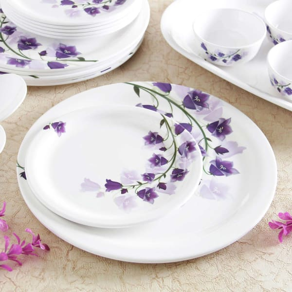 Snap Kitchen Hours: Snap Dragon Flowers Dinner Set: Gift/Send Home And Living