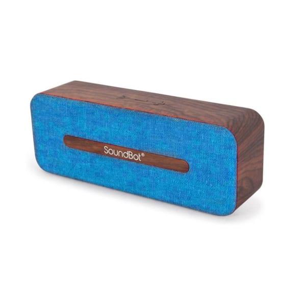 SoundBot SB574 10W HD Wireless Bluetooth Speaker - Blue