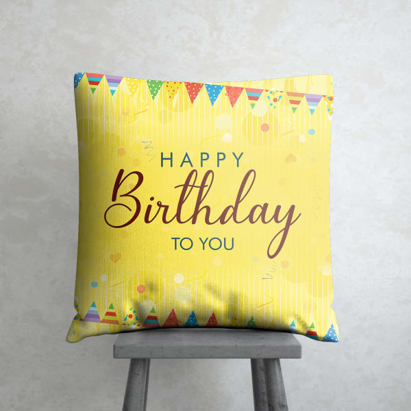 Special Birthday Cushion