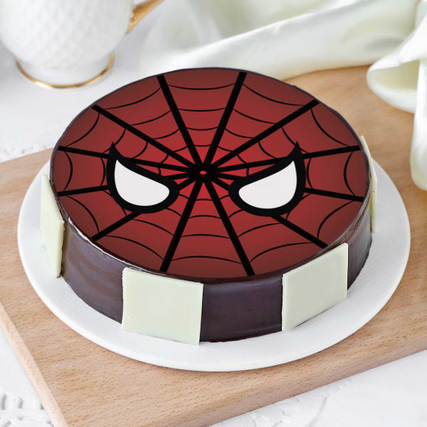 Spiderman Cake (Half Kg)