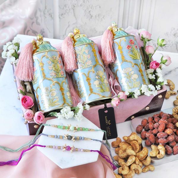 Splendid Token Of Love Rakhi Gift Box