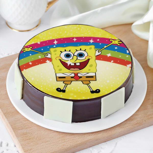Spongebob Cake (Half Kg)
