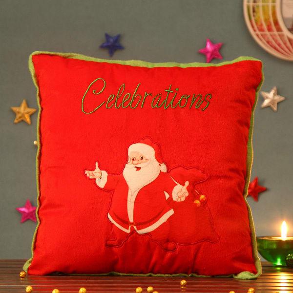 Square Santa Cozy Cushion