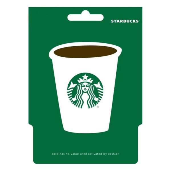 Starbucks 25 Gift Card With Birthday Greeting Card Gift Send