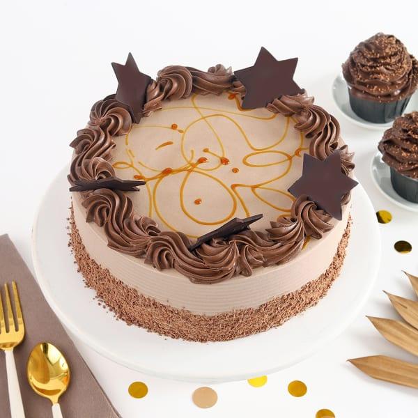 Stars Chocolate Cake (Half Kg)
