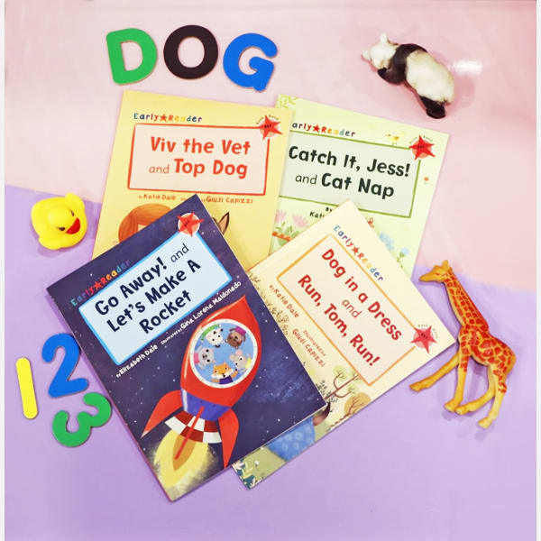 Storybooks for Lil Ones - Set of 4