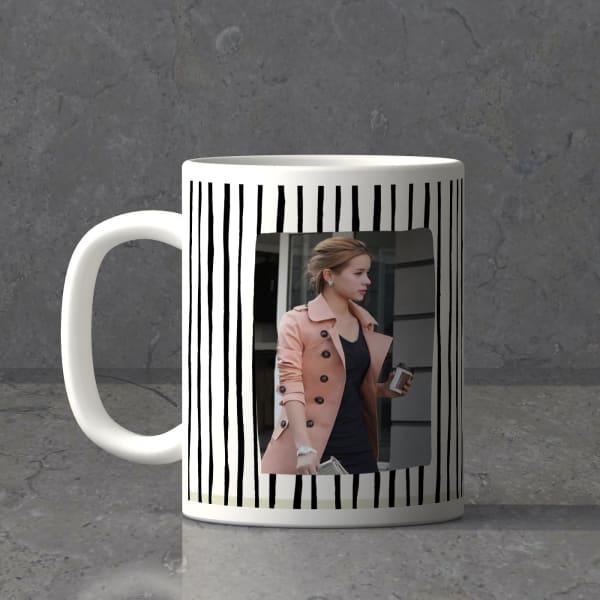Strokes & Lines Personalized Birthday Mug