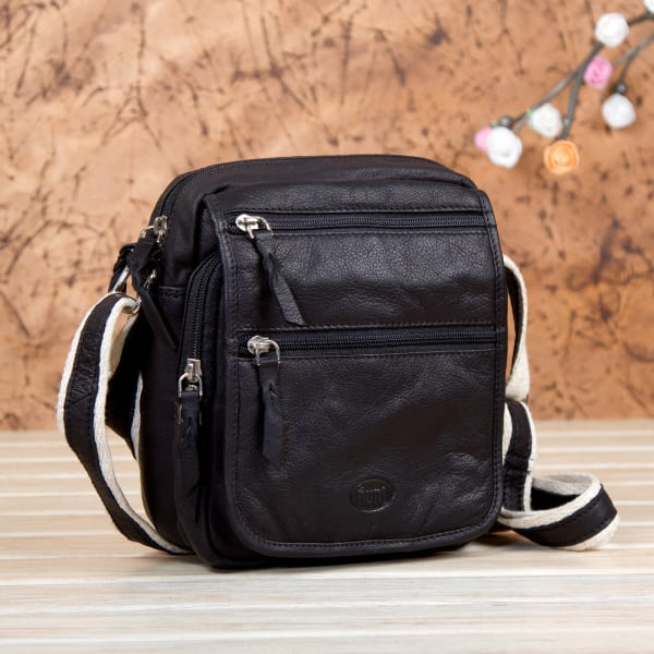 Stylish Leather Sling Bag Gift Send Fashion And Lifestyle Gifts Online