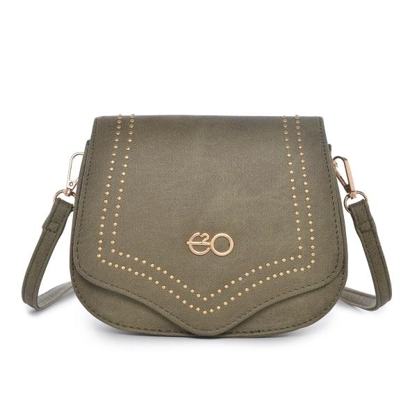 Stylish Olive Sling Bag For Women