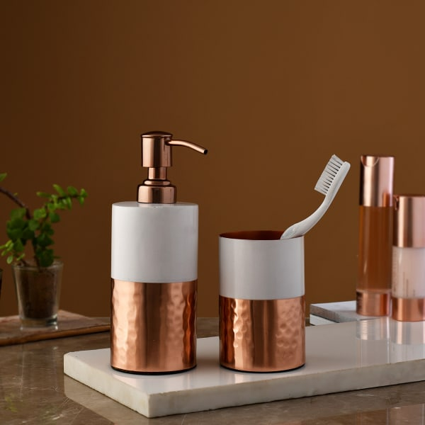 Suave Bathroom Accessories (Set of 2)