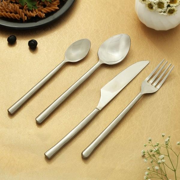 Suave Silver Cutlery Set (4 pcs.)