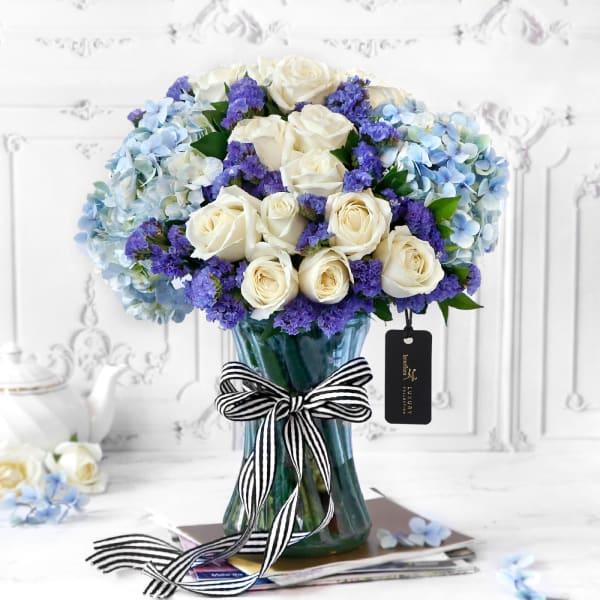 Suave Splendor Flower Arrangement