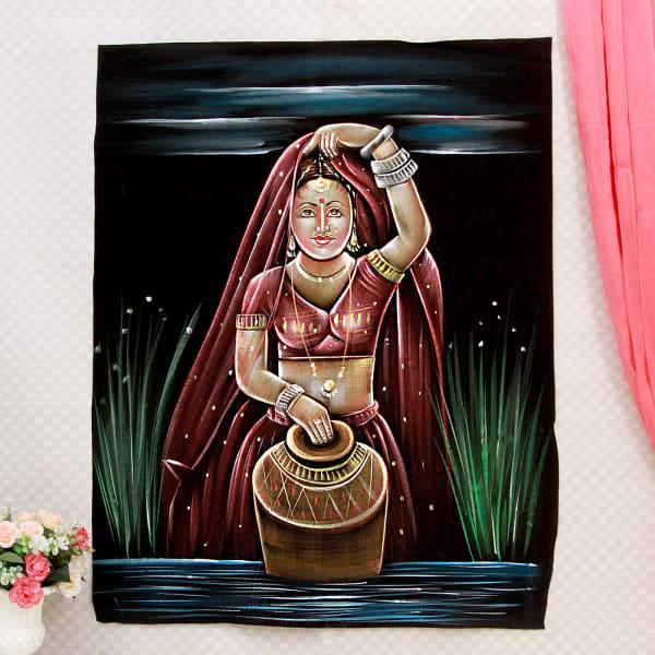 Sunaina Velvet Painting