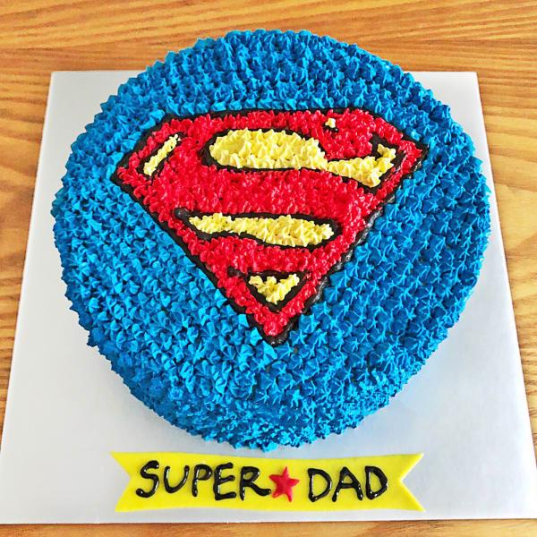 Super Dad Cream Cake (Half Kg)