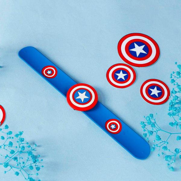 Superhero & Shield Rakhi for Kids