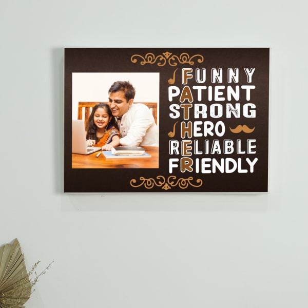 Sweet Backronym Personalized Canvas