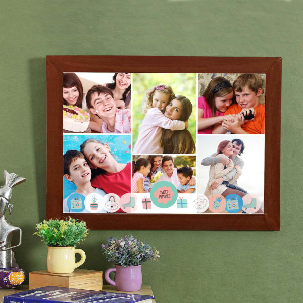 Sweet Memories Personalized Photo Frame