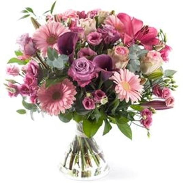 Tastefull bouquet, excl. vase