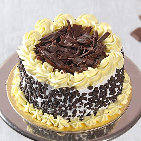 Buy Premium Caramel Heart Shape Chocolate Cake One kg
