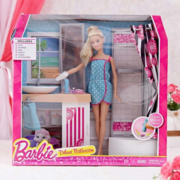 The Barbie Bathroom Set