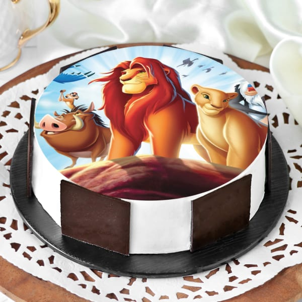 Order The Lion King Cake Half Kg Online At Best Price Free Delivery Igp Cakes