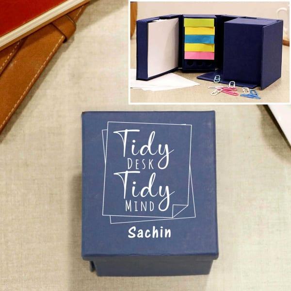 Tidy Desk Personalized Cube Stationery Kit