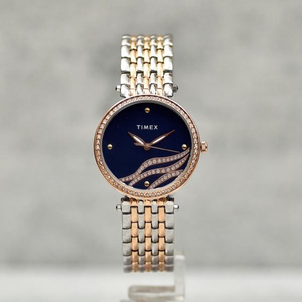 Timex Classy Stone Studded Women Watch