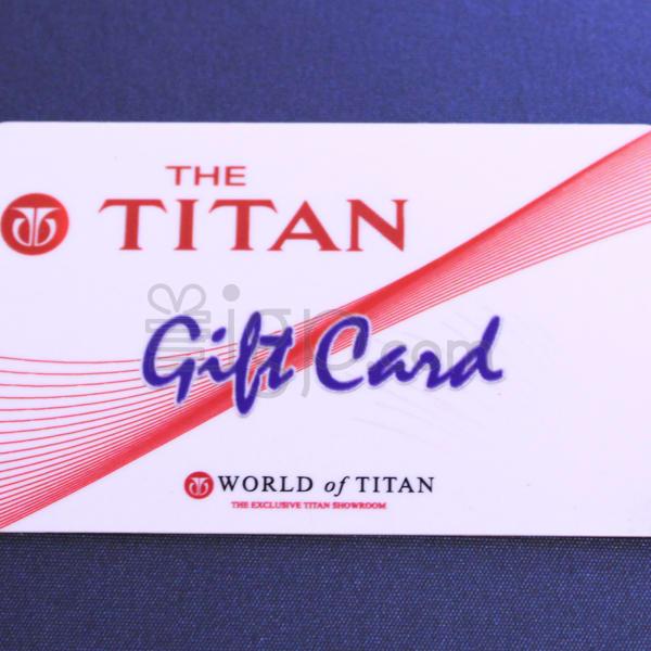 Titan  Gift Card - Rs. 1000