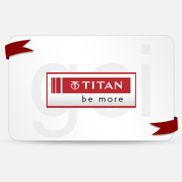 Titan  Gift Card - Rs. 2000