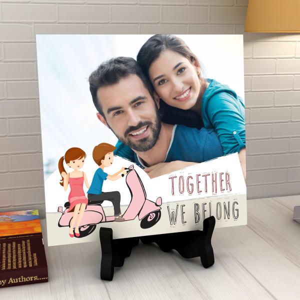 Together We Belong Personalized Tile