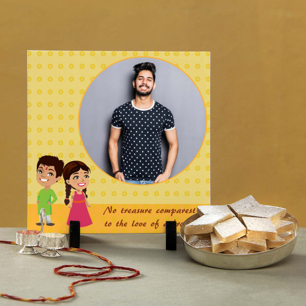 Treasure of Love Personalized Bhaidooj Hamper