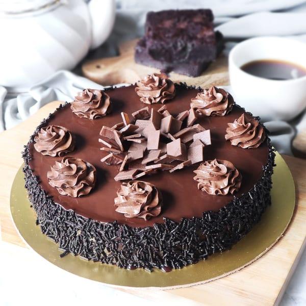Truffle Delight Cake (Half Kg)