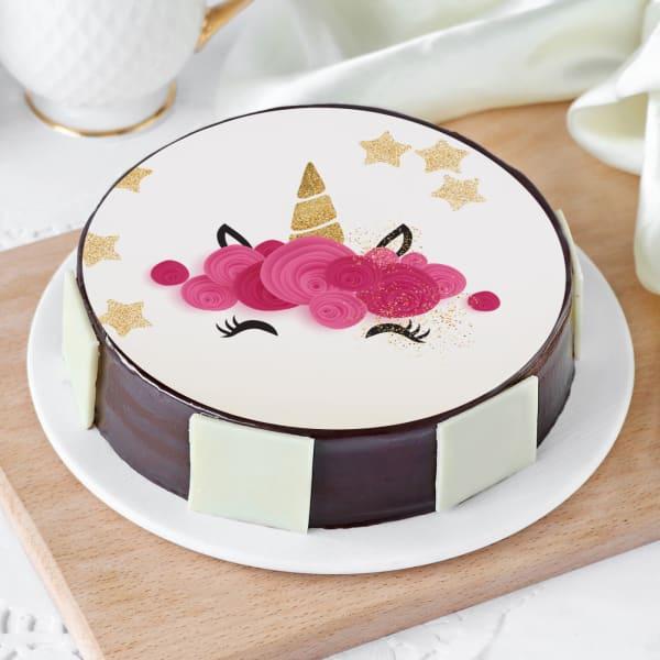 Unicorn Cake (Half Kg)