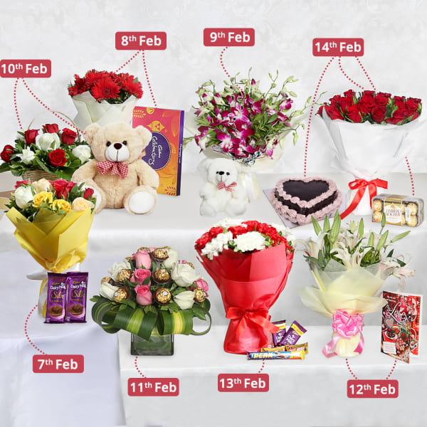 Valentine's 8 Days Serenade Gift